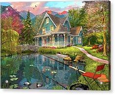 Fishing Retreat Acrylic Print