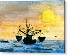 Fishing Tackle Acrylic Print by R Kyllo