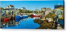 Fishing Village Acrylic Print