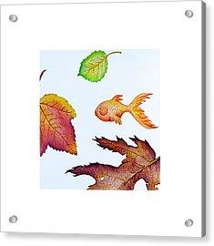 Fishsalad 4 Acrylic Print by Laura Dozor