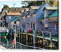 Fishtown Leland Michigan Acrylic Print