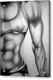 Fitness Model 3 Acrylic Print