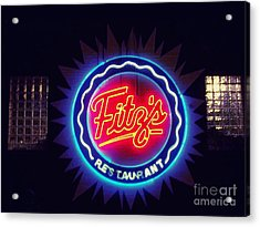 Fitz's Restaurant 2 Acrylic Print