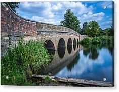 Five Arches Bridge. Acrylic Print