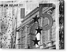 Five Euro Acrylic Print by Semmick Photo