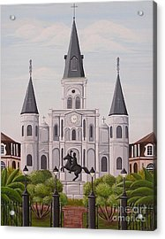 Five Fifteen In New Orleans Acrylic Print