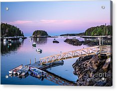 Five Islands Dawn Acrylic Print by Susan Cole Kelly