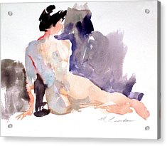 Five Minute Nude Acrylic Print