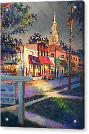 Five Points After Rain Acrylic Print