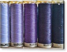 Five Times Purple Acrylic Print