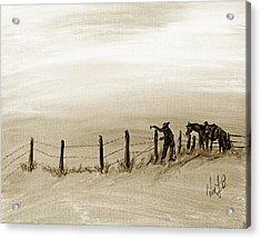 Fix On The Prairie Acrylic Print