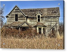 Fixer Upper Acrylic Print by Ron Roberts