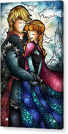 We Found Love In A Frozen Place Acrylic Print