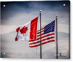Flag Duo Acrylic Print