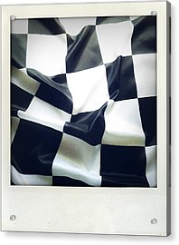 Flag Acrylic Print by Les Cunliffe