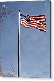 Flag On Duty 2013  Acrylic Print