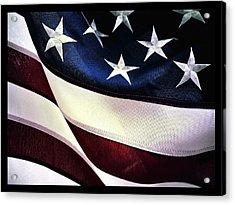 Flag Spotting At The Va Acrylic Print