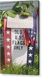 Flags Only Acrylic Print