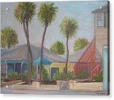Flagler Beach Shops Acrylic Print