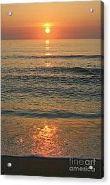 Flagler Beach Sunrise Acrylic Print