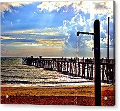 Flagler Pier Heaven Acrylic Print