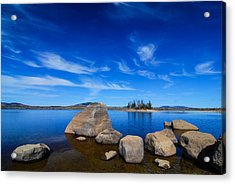 Flagstaff Lake Maine Acrylic Print