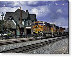 Flagstaff Station Acrylic Print