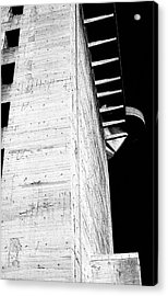 Flak Tower Vienna Side View Acrylic Print