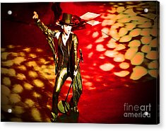 Showman Acrylic Print by Marguerita Tan