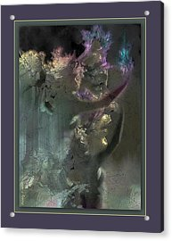 Flame Of Beauty Acrylic Print by Freddy Kirsheh