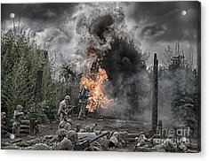 Flame Of Victory Acrylic Print