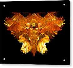 Flame Rider Acrylic Print