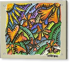 Flame Tree Acrylic Print