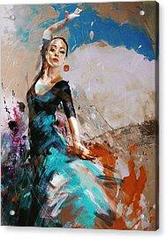 Flamenco 42 Acrylic Print