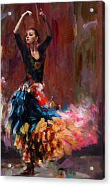 Flamenco 50 Acrylic Print