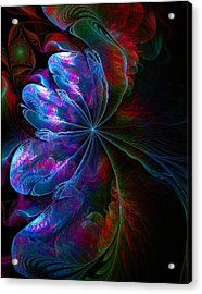 Flamenco Acrylic Print by Amanda Moore