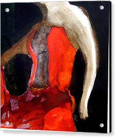 Flamenco Caliente Acrylic Print