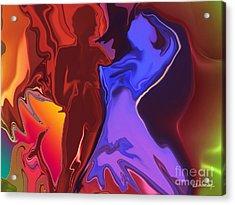 Flamenco Acrylic Print by Christian Simonian