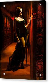 Flamenco Dancer 015 Acrylic Print