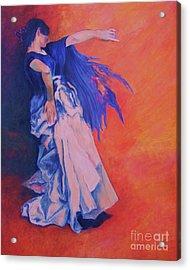 Flamenco-john Singer-sargent Acrylic Print