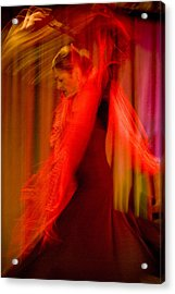 Flamenco Series 10 Acrylic Print