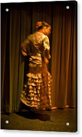 Flamenco Series 14 Acrylic Print
