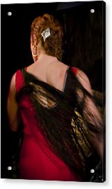 Flamenco Series 6 Acrylic Print
