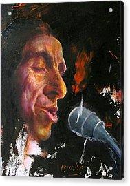 Flamenco Singer 1 Acrylic Print