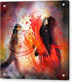 Flamencoscape 07 Acrylic Print by Miki De Goodaboom