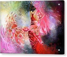 Flamencoscape 13 Acrylic Print