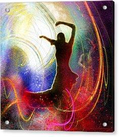 Flamencoscape 16 Acrylic Print by Miki De Goodaboom