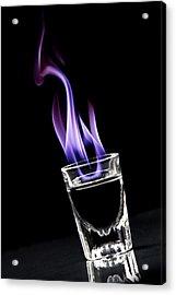 Flaming Sambuca Acrylic Print