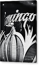 Flamingo Las Vegas Acrylic Print by John Rizzuto
