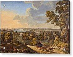 Flamstead Hill, Greenwich The Acrylic Print by English School